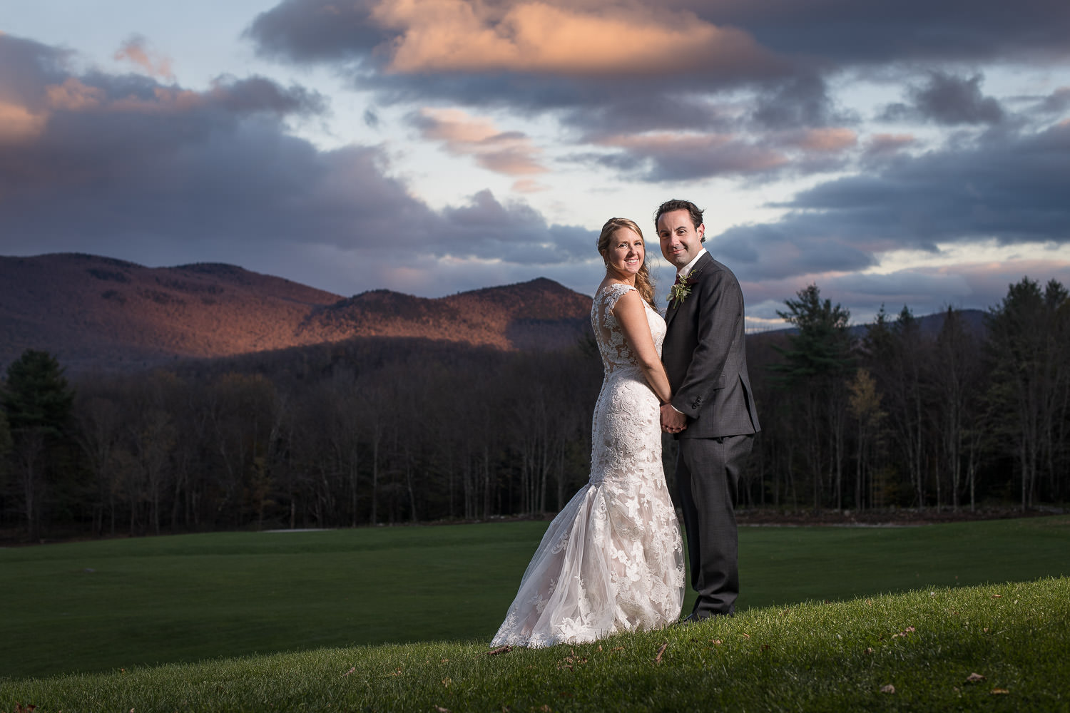 Autumn Mountain Top Inn Wedding