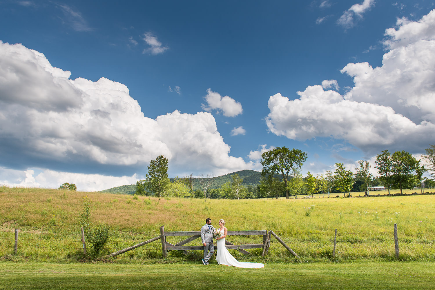 July Wedding at Round Barn Farm