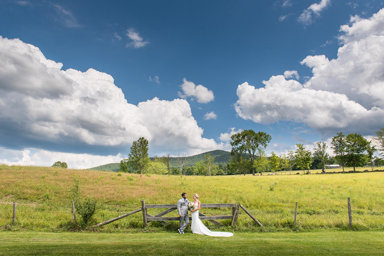July Wedding at Round Barn Farm