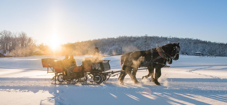 Vermont Winter Wonderland Elopement